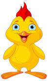 黄色小鸡 — 图库矢量图片