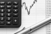 Analysis of the financial market (2). — Stock Photo