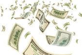 Money in air. — Stock Photo