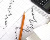 Financial Statistics. — Stock Photo
