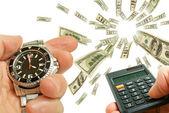 Financial activity. — Stock Photo