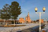 Cathedral of St. Vladimir, Novocheboksarsk, Chuvashia, Russia. — Stock Photo