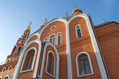 Cathedral of St. Vladimir, fragment, Novocheboksarsk, Chuvashia — Stockfoto
