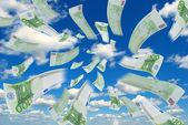 Money in the sky. — Stock Photo