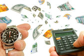 Rapidi profitti nel mercato forex. — Foto Stock