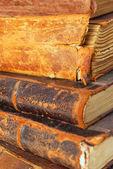 Eski kitaplar. — Stok fotoğraf