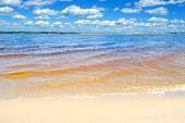 The Volga River, Chuvashia, Russian Federation. — Stock Photo