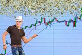 Trader-dodger. — Stock Photo