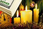Christmas bonus. — Stock Photo