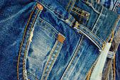 Blue jeans. — Stock Photo