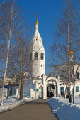 Church of the Resurrection, Cheboksary, Russia, winter. — Stock Photo