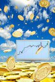 Stock transactions. — Stock Photo