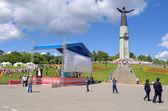 """Vacaciones en chuvasio cheboksary, rusia, """"akatui"""" 24.06.2014. — Foto de Stock"""