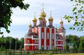 Tempel nieuwe martelaren en belijders russisch, cheboksary. — Stockfoto