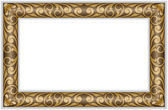 Gilt frame — Stock Vector