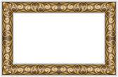 Gilt frame — Stock Vector