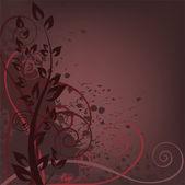 Dark spattered background — Stock Vector