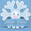 Winter design - Stock Vector