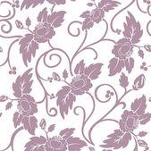 Dark pink seamless background — Stock Vector
