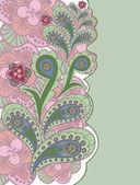 розовый и зеленый фон — Cтоковый вектор