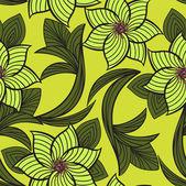 Mustard seamless background — Stock Vector