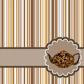 Herbata karta 2 — Wektor stockowy