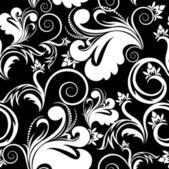Białe i czarne tło — Wektor stockowy