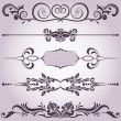 Stock Vector: Collection of decorative elements 6