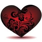 Red heart — Stock Vector #31400953