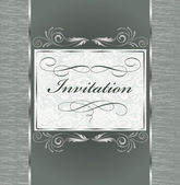 Vintage invitation — Vector de stock