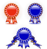 Set of medals — Stock Vector