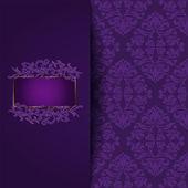 Vintage purple background — Stock Vector