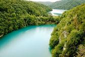 Lagos de Plitvice - parque nacional na Croácia — Fotografia Stock
