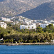 Agios Nikolaos city at Crete - Foto Stock