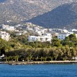 Agios Nikolaos city at Crete - Stockfoto