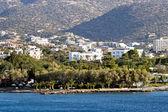 Agios Nikolaos city at Crete — Stock Photo