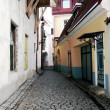 Narrow streets of Old Tallinn, Estonia — Stock Photo