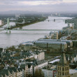 View from above on Cologne — Stock Photo