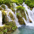 Mini waterfalls on Plitvice laiks — Stock Photo