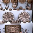 Traditional Arabic tableware — Stock Photo