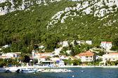 Panoramik Hırvat kasaba klek — Stok fotoğraf