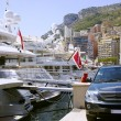 Monaco Montecarlo principality marina harbor panorama — Stock Photo