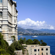 Oceanographic Museum in principality Monaco — Stock Photo