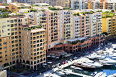 Monaco - Fontvieille harbour — Stock Photo