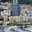 Montecarlo marina harbor panorama — Stock Photo