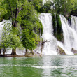 Stock Photo: Kravicwaterfalls in Bosniand Herzegovina