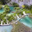 Plitvice Lakes - National Park in Croatia — Stock Photo