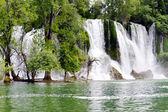 Kravica waterfalls in Bosnia and Herzegovina — Stock Photo