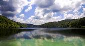 Plitvice Lakes - National Park in Croatia — Stock Photo