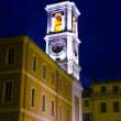 Horologium in the centre Old Nice at night — Stock Photo